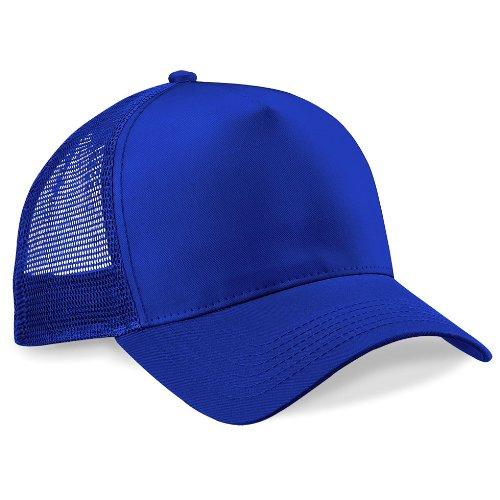 Casquette Snapback Trucker Fashion Bleu Royal
