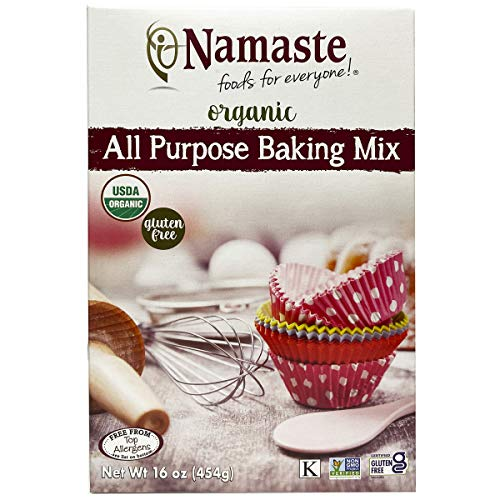 Namaste Foods Organic Gluten Free All Purpose Baking Mix, 16 ounces – Allergen Free