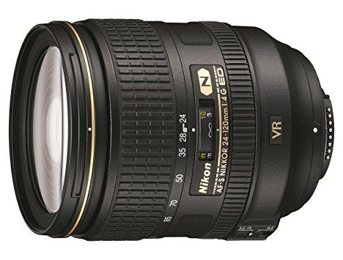 Nikon AF-S Nikkor 24-120mm f/4G ED VR SLR - Objetivo (SLR, 17/13, Objetivo de zoom estándar, 0,45 m, Nikon F, 4-22)