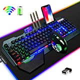 Best Wireless Gaming Keyboards - Gaming Keyboard Mouse & Mouse Pad Kit,3 in Review