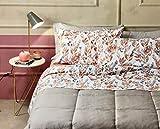 ZUCCHI - Bettwäsche-Set für Doppelbett, Flanell, Farbe R1