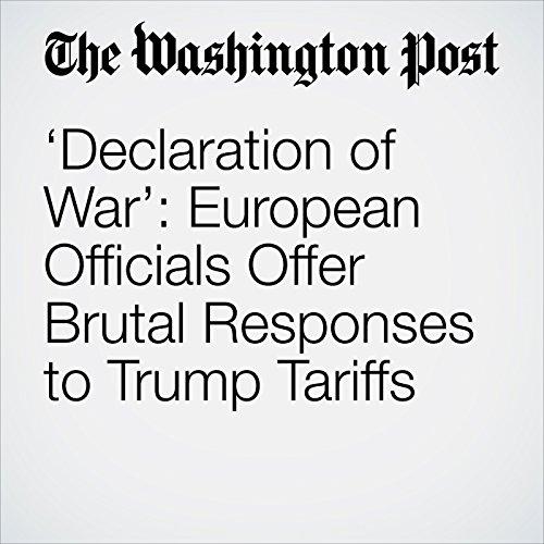 'Declaration of War': European Officials Offer Brutal Responses to Trump Tariffs copertina