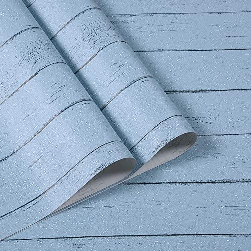 Chingde Papel pintado madera autoadhesivo, 45X1000CM Pegatinas de muebles Papel pintado de efecto de grano Pegatinas de pared de vinilo a prueba de agua Papel contacto para mesa de pared Cocina Baño