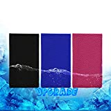 Biange Cooling Towel (3 Pack) Thicker and...