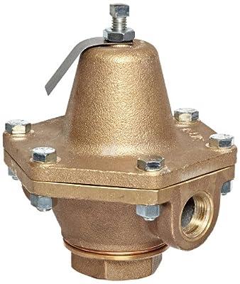 "Cash Valve 1874-0053 Bronze Pressure Regulator, 30 - 75 PSI Pressure Range, 3/4"" NPT Female from Tyco Valves & Controls"