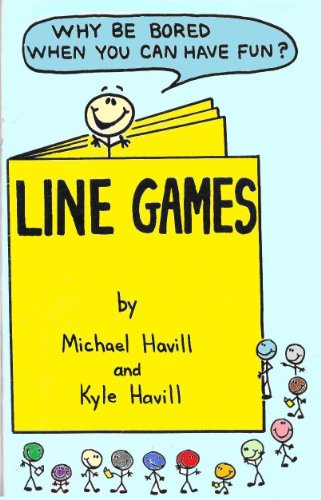 Line Games - Games for You and Your Family to Play While You Wait In Line (English Edition)