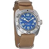 Vostok Amphibian Scuba Dude Diver AUTO Mens Wristwatch Military Amphibia Ministry Case Wrist Watch #710432 (Beige)
