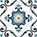 Achim Home Furnishings RTFTV60120 Retro 12x12 Self Adhesive Vinyl Floor Tile-Slate-20 Tiles/20 sq. ft, Slate