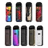 Cigarette électronique Kit de démarrage SMOK Nord 2 40W Pod 1500mAh avec une capacité de 4,5 ml et un écran OLED de 0,96 pouce sans liquide ni nicotine (Cobra 7 couleurs)