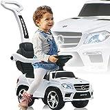 Stimo Mercedes Benz AMG Rutschauto (offiziell lizenziert) Kinder Fahrzeug Rutscher Auto (AMG 63er SUV Weiß)
