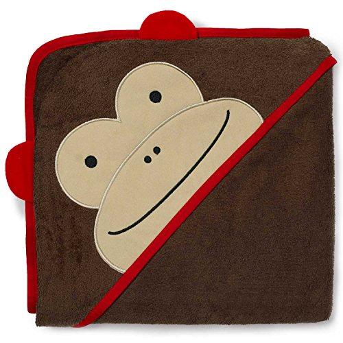 Skip Hop SKI-ZOO-TOWEL-MONKEY - Toalla infantil con capucha, diseño de mono ✅