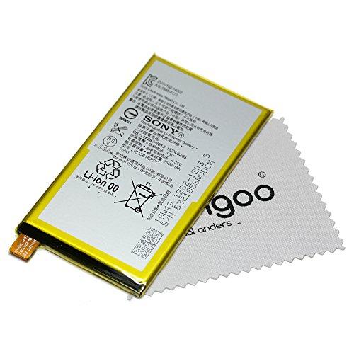 Batería para Original Sony para Sony Xperia C4, Xperia C4 Dual, Xperia Z3 Compact LIS1561ERPC 1282 - 1203 con mungoo pantalla paño de limpieza