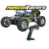 Ninco-NH93140 Ninco NincoRacers Dakota. Desert Buggy teledirigido a escala 1/12 y tracción a las 4 ruedas. Color verde. 34x26x15.5cm. (NH93140), negro