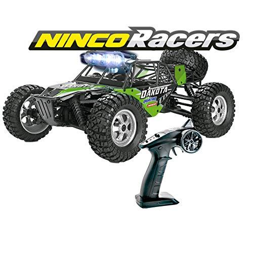 Ninco-NH93140 Ninco NincoRacers Dakota. Desert Buggy teledirigido a escala 1/12 y tracción a las 4 ruedas. Color negro. 34x26x15.5cm. NH93140