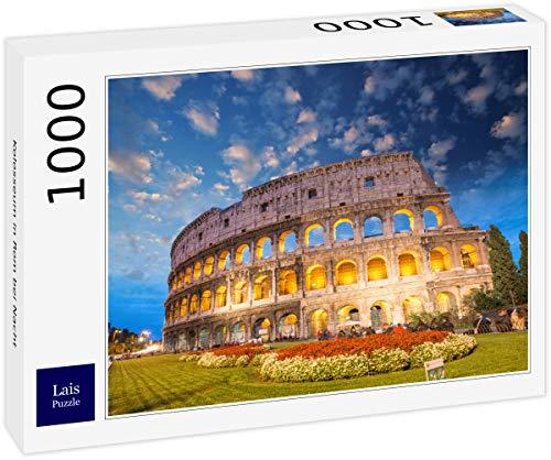 Lais Puzzle Coliseo en Roma de Noche 1000 Piezas