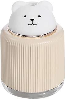 Ultrasonic Air Humidifier Aroma Essential Oil Diffuser Bear Shape USB Fogger LED Light