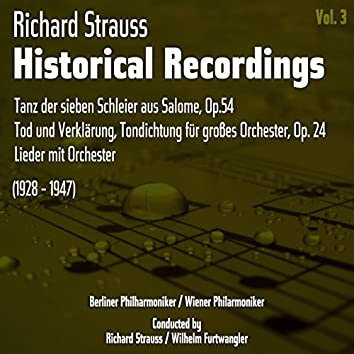 Richard Strauss: Historical Recordings, Volume 3 (1928 - 1947)