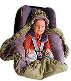 VierJahreszeiten Einschlagdecke für Babyschale & Kinderwagen by Locens – Praktischer