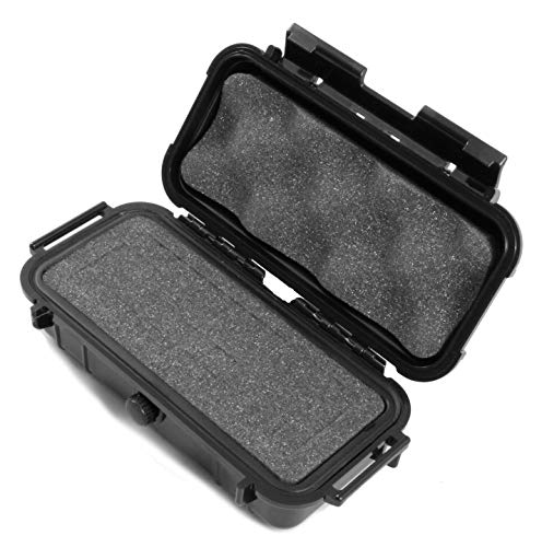 Cloudten Smell Proof Case 7.5 inch Odor Resistant Hookah Tobacco Pipe Travel Storage Container with Customizable Foam