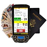 IDVisor Smart Plus ID Scanner - Drivers License and Passport Age Verification & Customer Management - Extra Large 5' LCD Screen, Charger Cradle, Hand Strap, Spare Battery & More