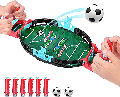 Juego de mesa de fútbol mini juego de arcade de dedo batall