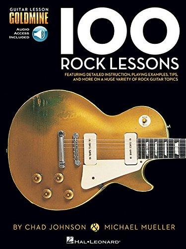 Price comparison product image 100 Rock Lessons: Guitar Lesson Goldmine Series