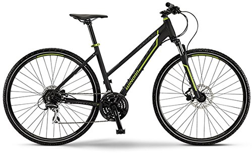 Winora Yacuma 2015 Crossbike Damen schwarz/Lime matt (Rahmenhöhe 51)