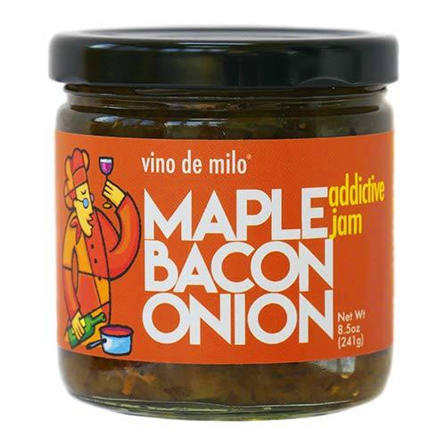 Maple Bacon Onion Jam by Vino de Milo (8.5 ounce)