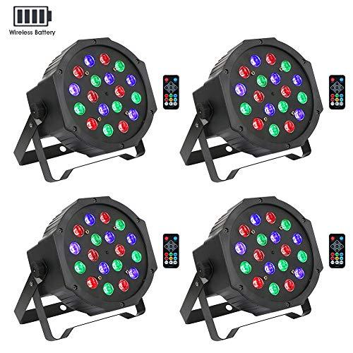 led dj lights package - 8