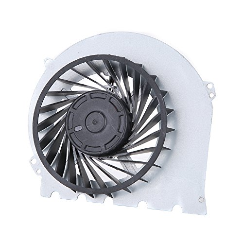 ASHATA Vervanging PS4 interne ventilator, DC 12V Vervangende ventilator Koeler Internal Cooling Fan, draagbare interne CPU GPU koeler Fan reserveonderdeel voor Sony Playstation 4 PS4 2000 model