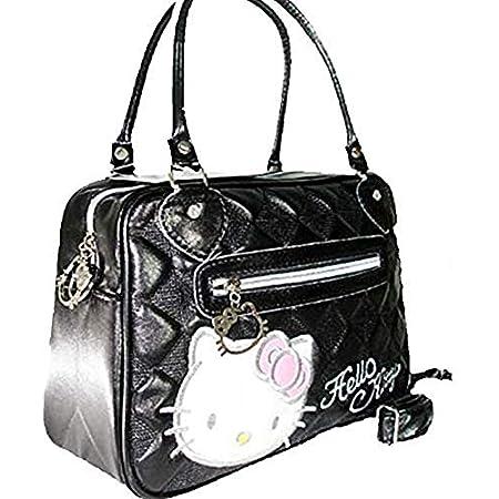 Hand Bag Hello kitty shape large capacity handbag shoulder for Girls women