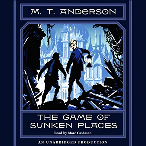 The Game of Sunken Places audiobook cover art
