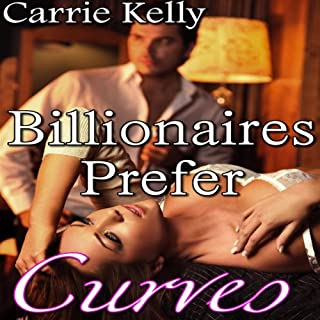 Billionaires Prefer Curves audiobook cover art