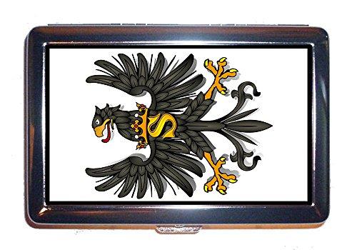 Zigarettenetui Adler Vogel Mantel symbole tiere König (ETUI).