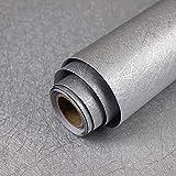15.7' X 118' Silver Grey Wallpaper Embossed...