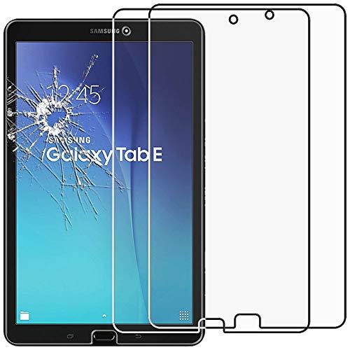 ebestStar - kompatibel mit Samsung Galaxy Tab E 9.6 Panzerglas x2 T560, T561 Schutzfolie Glas, Schutzglas Bildschirmschutz, Bildschirmschutzfolie 9H gehärtes Glas [Tab: 241.9 x 149.5 x 8.5mm, 9.6'']