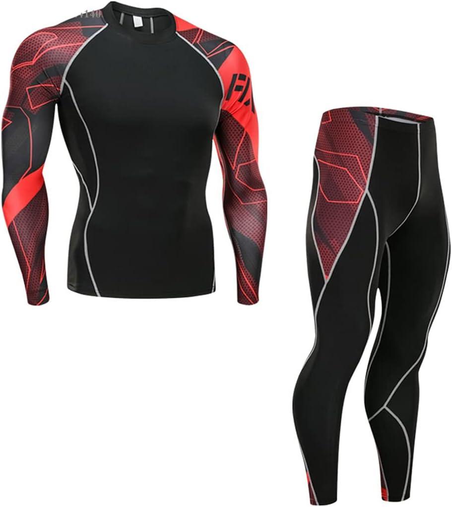 Winter Thermal Underwear Pant+Clothing Men Quick Dry Warm Long Set Male Warm Fitness Underwear Set