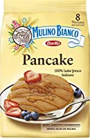 Mulino Bianco Pancake, per Colazione e Merenda, Senza Olio di Palma e Additivi Conservanti - Confezione da 8 Porzioni,...