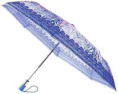 Lilly Pulitzer Travel Umbrella Kaleidoscope Coral One Size