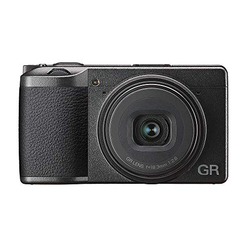 GR III Digital Compact Camera, 24mp, 28mm f 2.8 lens with Touch Screen LCD (Renewed)