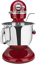 Best KitchenAid Renewed RKSM6573ER 6-Qt. Professional Bowl-Lift Stand Mixer - Empire Red Review
