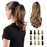 """Best Hair Extension Ponytail Real Hairs - Sofeiyan 13"""" Ponytail Extension Long Curly Ponytail Clip Review"""