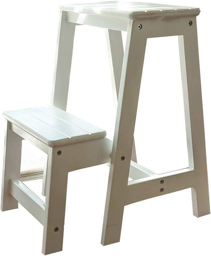 QYJpB Solid Wooden Super sale Ladder Stool Multifunction favorite Foldablestep