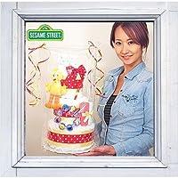 3段おむつケーキ「セサミストリート・ビックバード」【出産祝い】【パンパース使用】-M