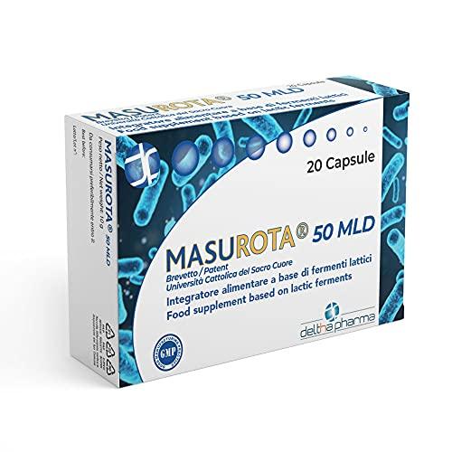 Masurota 50 MLD, Integratore alimentare di fermenti lattici e inulina, per favorire...