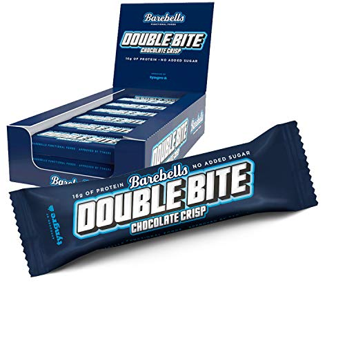 Barebells Protein Bar Double Bite Chocolate Crisp 12x55g