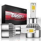 CXMY Faros LED para el Coche Bombillas de Haz de luz Alta/Baja del Haz de luz 32W 3600LM 6000K Blanco H1 / H3 / H7 H11 / H8 / H9 LED Faros (Style : H7)