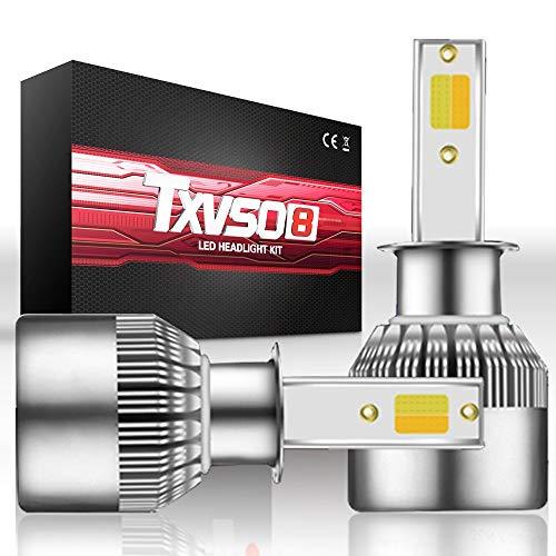 Ampoules 32W 3600LM 6000K blanc H1 / H3 / H7 de kit de conversion de phare de faisceau haut/bas (Style : H1)