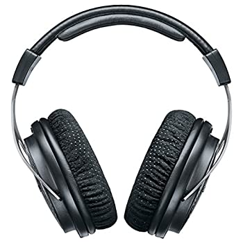 Shure SRH1540 Premium Closed-Back Over-Ear Headphones  Black