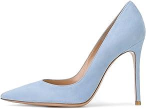 Amazon Com Light Blue Heels